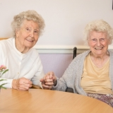 Sister act at Riversway Nursing Home