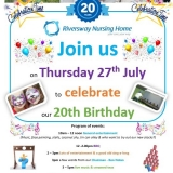20 years of care for Riversway Nursing Home