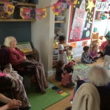 Nursery visit for happy residents