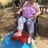 Riversway water fights and paddling pools