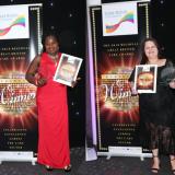 Riversway care duo honoured