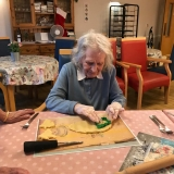 Christmas preparations and biscuit making was lots of fun