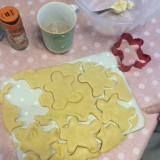 Biscuits and baking for making memories