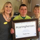 Caring Hero award for Hellen